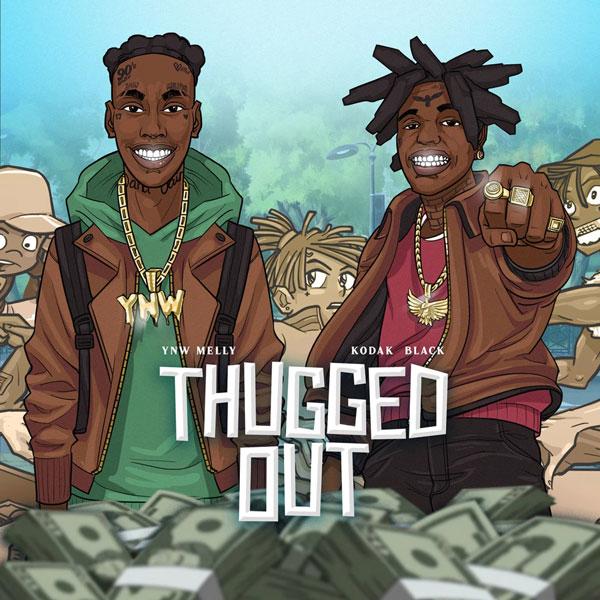 دانلود آهنگ YNW Melly Thugged Out (feat. Kodak Black)